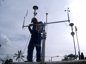 Installing a Weather Station