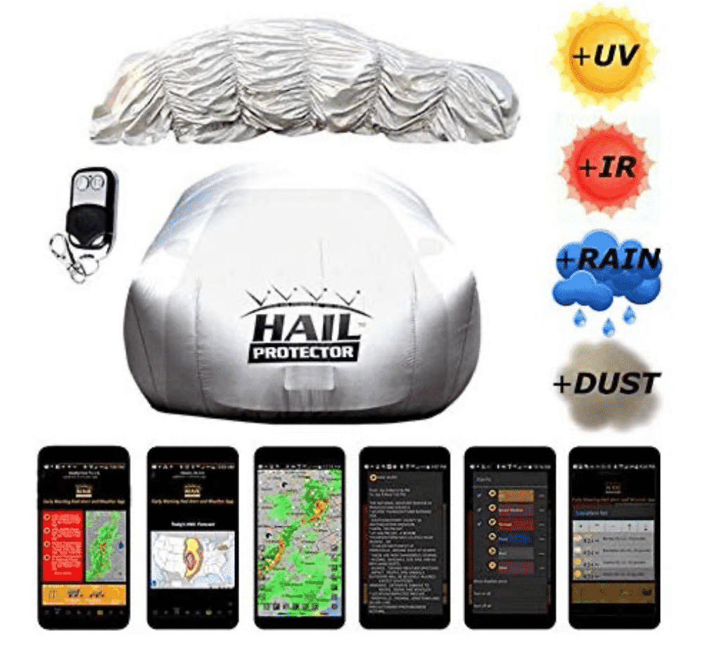 Hail Protecting Car Covers – Complete Buyers' Guide and Reviews
